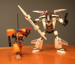 Lego Exo Force - The good guys  by hyku