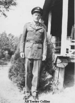 Alf Trotter Collins 1946 From the collection of Ron Lee Collins