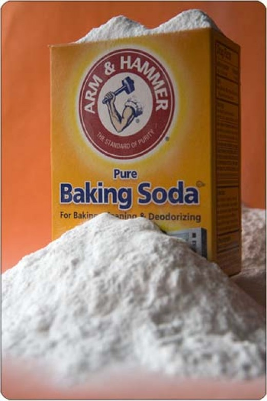 Baking soda for house and home.