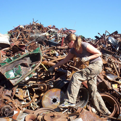 """Some like to collect metals and sell them to metal recyclers. When copper fetched a high price, some people got """"creative"""" in procuring scrap copper for resale. You will need to follow metal prices to see what is worth the trouble. Be kind! Don't gut"""