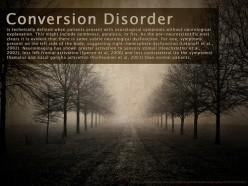 Psychosomatic Illnesses: Conversion Disorder