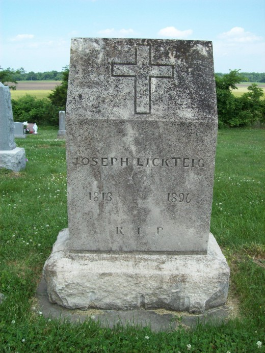 Joseph Lickteig 1818-1896