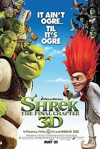 Shrek Forever After The Final Chapter Movie Poster