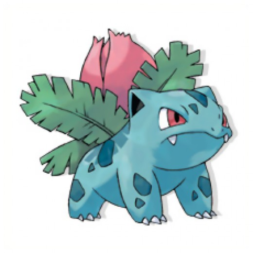 Ivysaur is the evolved form of Bulbasaur.