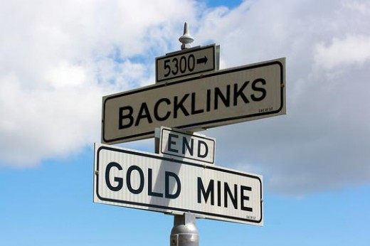 Backlinks are pure gold for articles.
