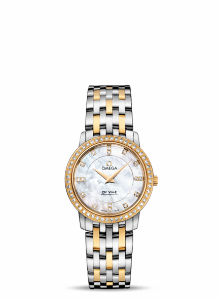 Omega DeVille Ladies Mother-of-Pearl Two-Tone | Photo credit:  Omega
