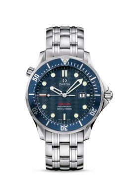 Omega Seamaster Men's Stainless Steel | Photo credit:  Omega