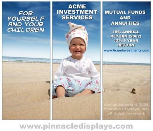 Image 1 - sample trade show display design - copyright Pinnacle Displays Inc 2008