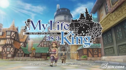 Final Fantasy Chrystal Chronicles: My Life as King screenshot