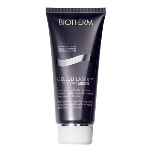 BIOTHERM CELLULI LASER INTENSIVE NIGHT ($47) at biotherm-usa.com uses caffeine to firm skin by morning.