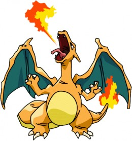 Charizard is the last evolution of Charmandar.