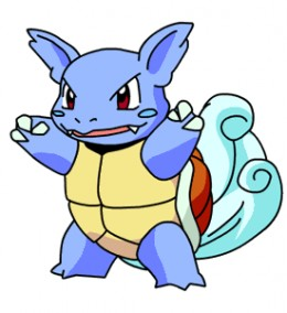 Wartortle is the evolved form of Squirtle.
