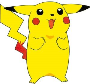 Pikachu is a little electric mouse!