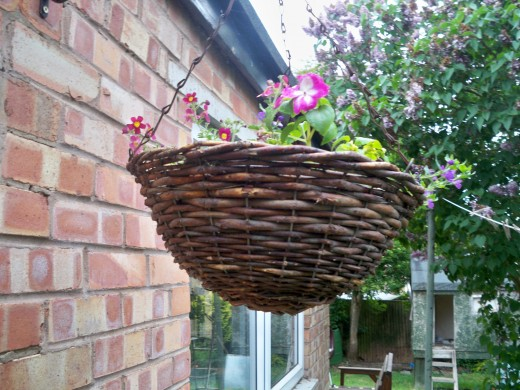 Another type of basket where you don't need a liner