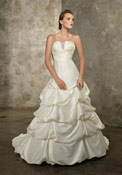 Believe it or not, this gown is inexpensive!