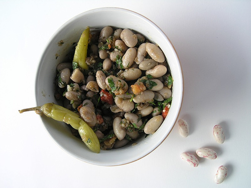 A fresh bean salad is just one of many ways to add beans to your diet.