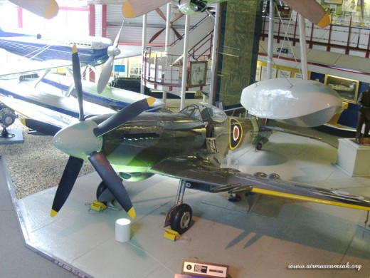 Submarine Spitfire at Southampton Hall of Aviation
