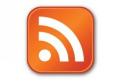 This is the most common RSS Feed logo.