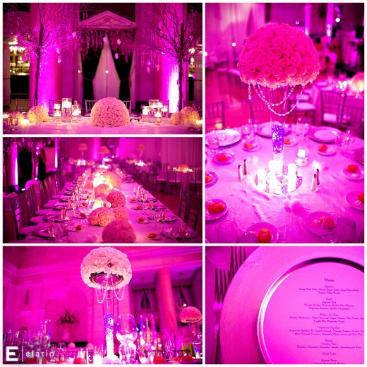 Tent Ideas are fun and different for your wedding Elaborate wedding room