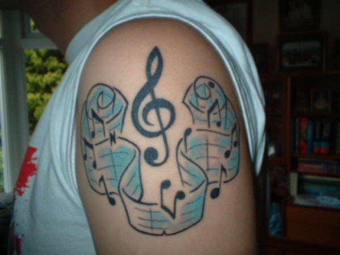 Music Note Tattoos, Music Note Tattoo, Music Note Tattoos and this tattoo