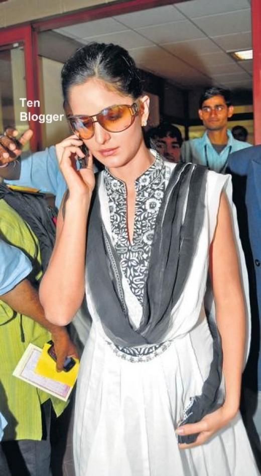 Katrina Kaif without makeup latest