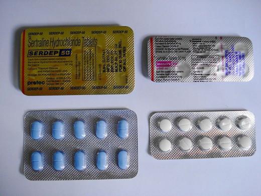 Sertraline HCl (generic Zoloft)