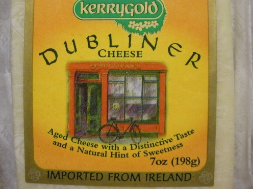Dubliner Cheese, imported from Ireland