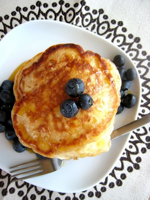 Buttermilk pancakes...
