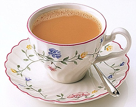 Make the perfect cup of tea.    Image source - dailymail.co.uk
