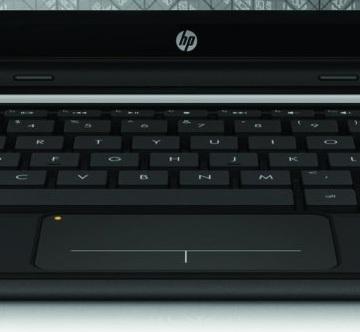 HP Mini Keyboard up close
