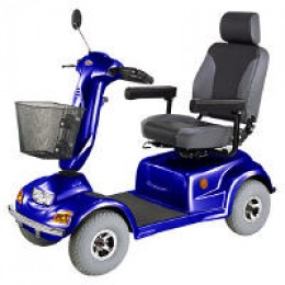 The HS-890 CTM Mobility Scooter Terrain Trekker is a heavy-duty addition to CTM's line of medicare scooters.
