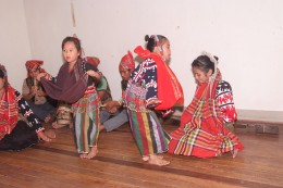 Children learn how to dance the Madal Seyow by watching their older siblings perform.