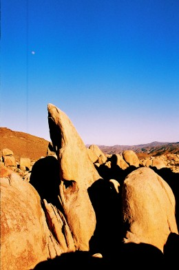 view of some rock formations