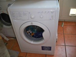How not to install an Indesit IWB 5113 washing machine in your home