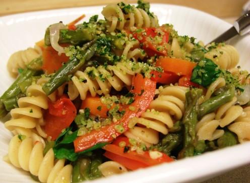 Veggie Pasta. Photo by MDJ Crumm, 2010.