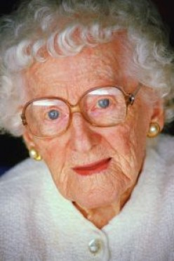 How should you address a sweet old lady?