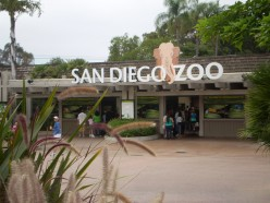 The entrance to the San Diego Zoo.