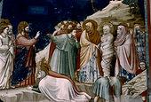 Raising of Lazarus BY Giotto, (Circa 1266-1337)
