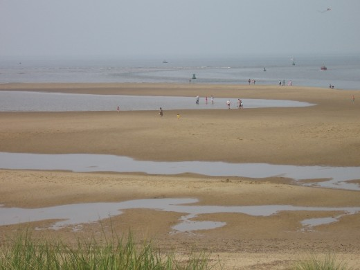 The beach at Wells-Next-the-Sea, North Norfolk