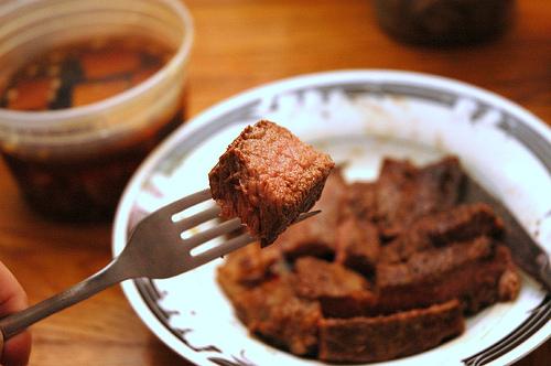 Delicious Buffalo Steak photo: LarimdaME @flickr