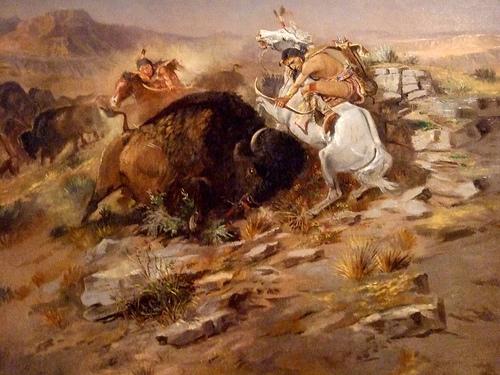 American Buffalo Indian Art Painting photo: mharrsch @flickr