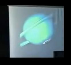 aurora borealis at Saturn's poles