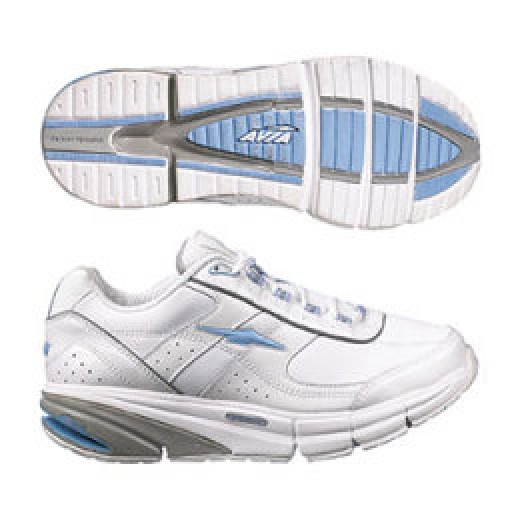 Avia with dorsal and lateral flexing grooves. Increased stability and great forefoot flexing