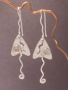 """Silver Whimsy"" Sterling Silver"