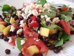Mango and Watercress Salad with Queso Fresco. Photo by MDJ Crumm, 2010.