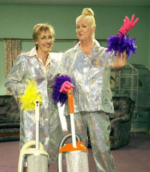 Kim and Aggie in How Clean Is Your House