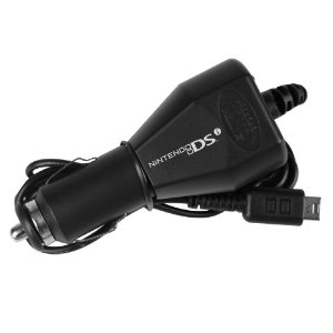 Nintendo DSi/DSi Xl car charger meaning you can charge your DSi in the car Picture from Amazon