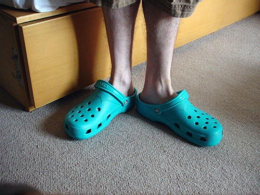 Crocks, what were they thinking