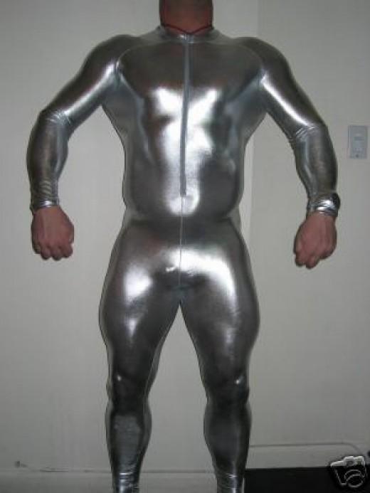 Spandex body suit
