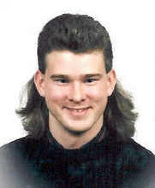 The Mullet, only Joe Dirt can pull this off.